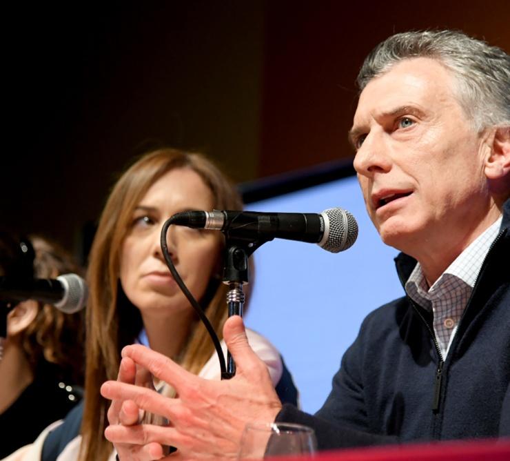 Conf de Macri